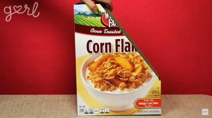 cereal box organizer
