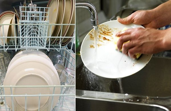 handwashing dishes