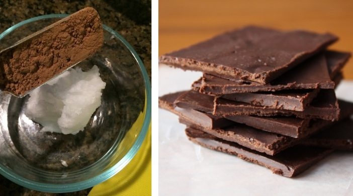 coconut oil chocolate